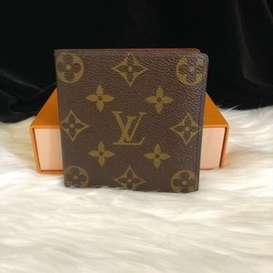 Authentic LV 6 card slots wallet